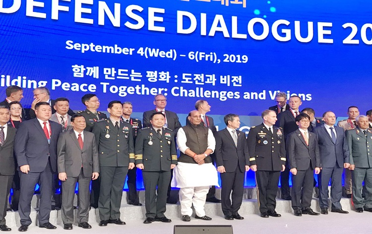 Rajnath Singh says Spectacular progress made by South Korea has been a source of inspiration for India