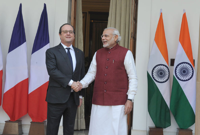 Focus on anti-terror, climate cooperation:  Hollande