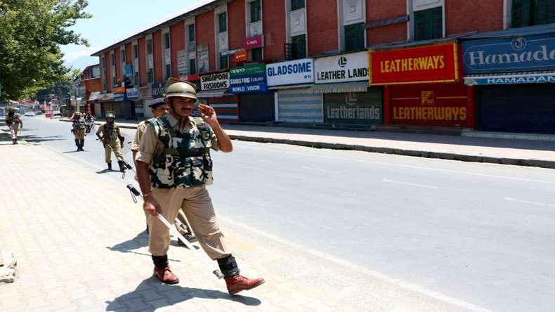 Curfew to continue in Anantnag in J&K