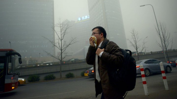 Over 90 percent  of world breathing bad air: WHO