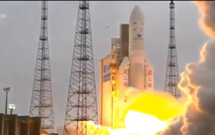 ISRO launches GSAT31 from French Guiana