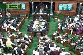 Opposition creates uproar in Lok Sabha over land bill