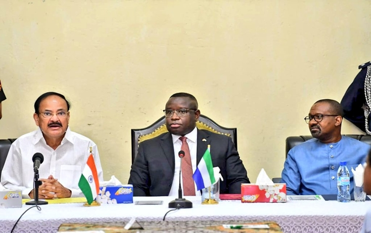 India, Sierra Leone sign six agreements