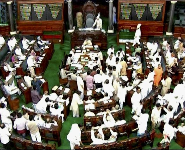 Ruckus in Lok Sabha over separtist leader
